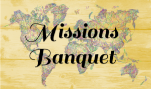 Missions Banquet @ Red Oak Municipal Center