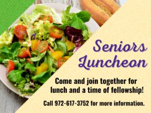 Senior Luncheon
