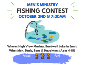 Men's Ministry Fishing Contest @ High View Marina
